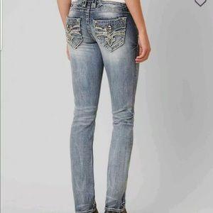 Rock Revival Bling Womens Jeans 28 29 30 31